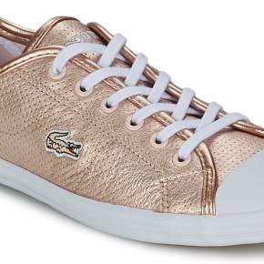Basket femmes lacoste ziane sneaker 116 1 rose