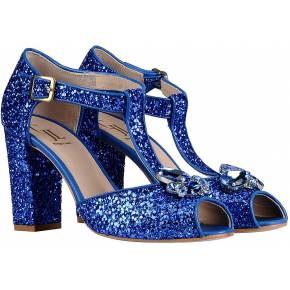 Sandales george j. love femme. bleu. 35 - 36 -...