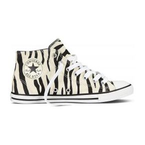 Tennis all star dainty print zebra hi converse...