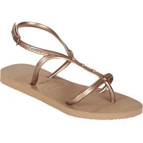 Nus pieds allure maxi - marron - femme - havaianas