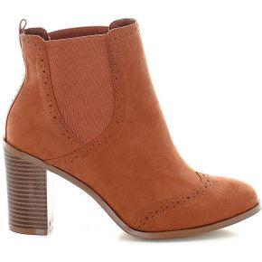 Boots à talon - feminin - marron - la redoute...