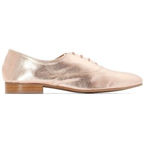 Derbies cuir - feminin - rose - la redoute...
