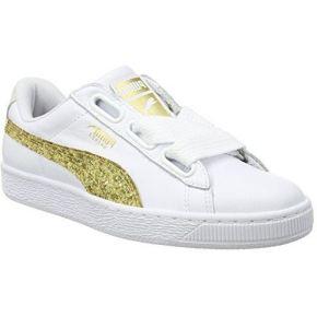Puma basket heart glitter, sneakers basses...
