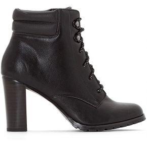 Boots esprit montagne talon haut - feminin -...