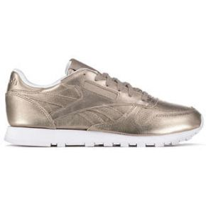 Baskets reebok cl leather melted metal bronze...