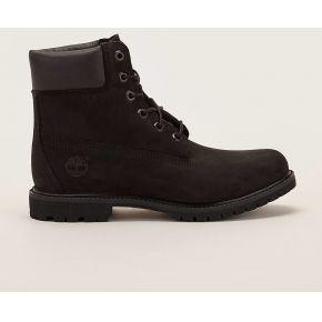 Boots noires en cuir suédé 6in premium -...