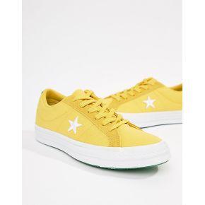 Femme converse - one star - baskets - jaune -...