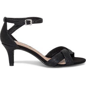 Sandale noire irisée à talon noir eram