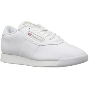 Reebok princess, baskets mode femme, blanc...