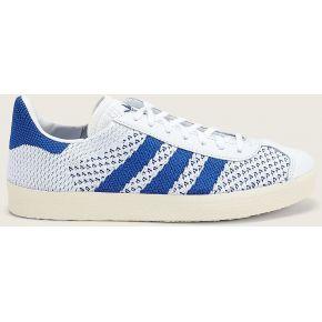 Sneakers bi-matières gazelle pk bleu et blanc -...