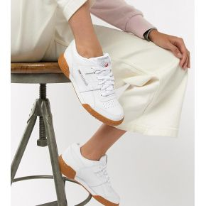 Femme reebok workout plus - baskets avec...
