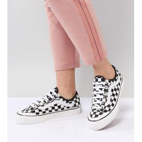 Femme vans - style 36 - baskets motif damier -...