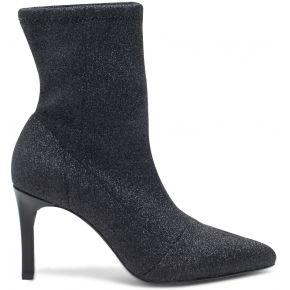 Boots chaussette noir pailleté noir eram