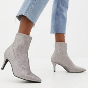 Femme new look - bottines chaussettes à petits...