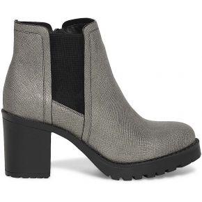Boots cranté argenté gris eram