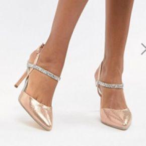 Femme coast - chaussures à talon ornées d'iris...