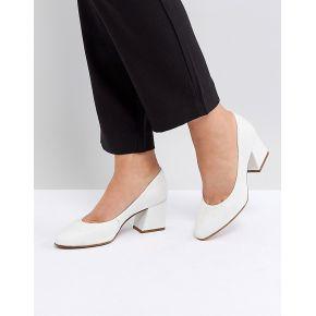 Femme asos - spearmint - chaussures en cuir à...
