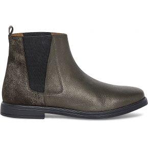 Chelsea boots irisé cuir bronze marron eram