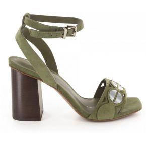 Sandales-lola cruz - couleur - kaki, taille - 39