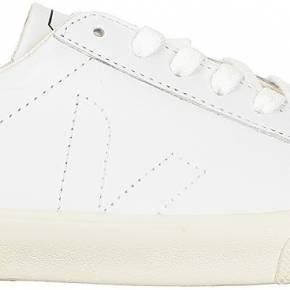 Baskets blanches cuir esplar veja blanc 100%...