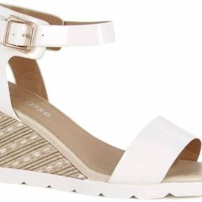 Sandale compensée soho blanc