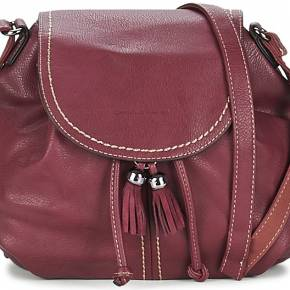 Sac bandoulière femmes david jones antipa rouge