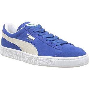 Puma classic, baskets mode femme - bleu...