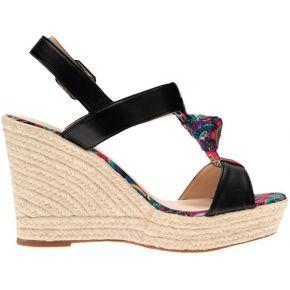 Sandales compensées noir du 35 au 40