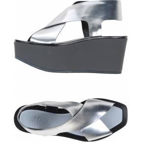 Sandales kenzo femme. argent. 40 - 41 .