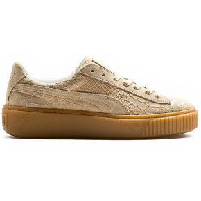 Baskets platform exotic. puma beige