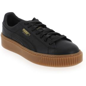 Baskets basses puma platform core en cuir...