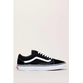 Sneakers noirs en toile empiècement cuir suede...