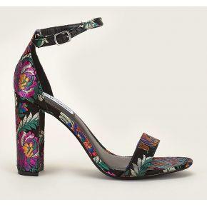 Sandales à talons brodées floral carrson noir -...