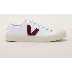 Sneakers wata blanc et bordeaux - veja