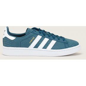 timeless design 2b1f9 2ff93 Sneakers en cuir campus bleu canard - adidas