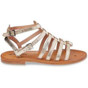 Sandales cuir hic feminin jaune les...