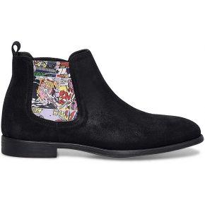 Chelsea boots noirs homme-noir-26451-outlet