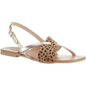 Pieces psjoyce leather leopard, sandales...