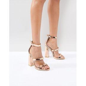 Femme public desire - oyster - sandales à trois...