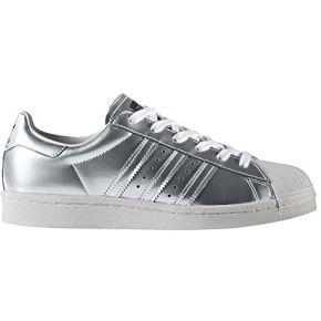 Adidas superstar boost w silver metallic white...
