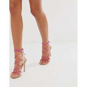 Femme public desire - playa - sandales lacées à...
