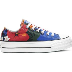 Chuck taylor all star paradise prints lift low top