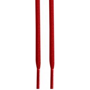 Lacets ronds rouges 137 cm