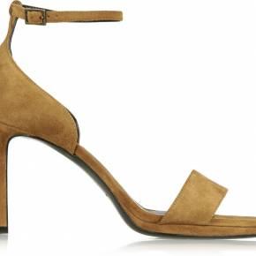 Sandales à talons en daim jane