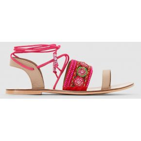 Sandales plates perles mademoiselle r....