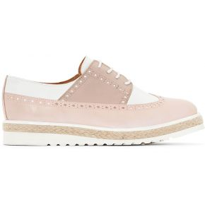 Derbies cuir tricolores - atelier r