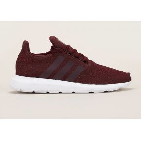 Sneakers pailletées swift run w bordeaux -...
