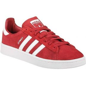 Adidas campus, sneakers basses femme, rouge...