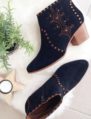 Chaussures brodées, chaussures stylées
